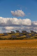 Placas Solares en el Campo