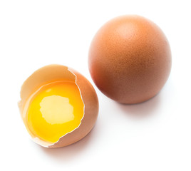 Egg with shell