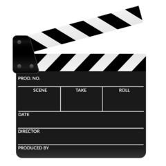 Filmklappe geöffnet