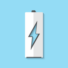 Vector battery icon background