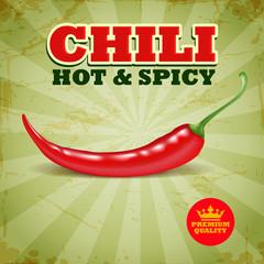 CHILI HOT E SPICY