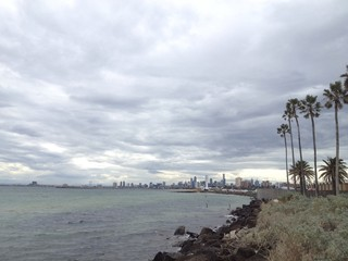 Cloudy Melbourne