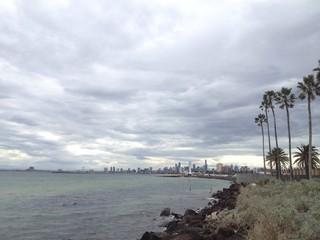 Cloudy Melbourne