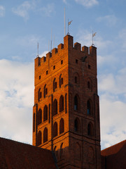 The Main tower of Malbork castle