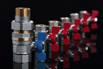 Valves for hot and cold water