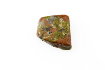 Unakite natural gemstone