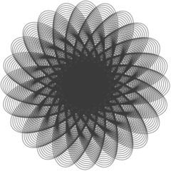 Abstract circle. Vector. 1