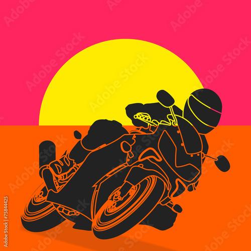 Fototapeta Moto pop