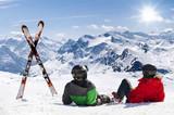 Pair of cross skis