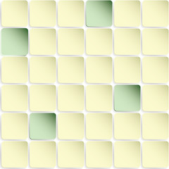 Seamless background with squares