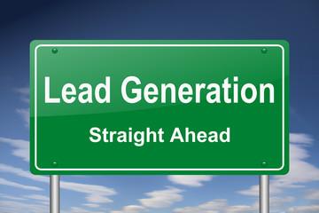 lead generation sign