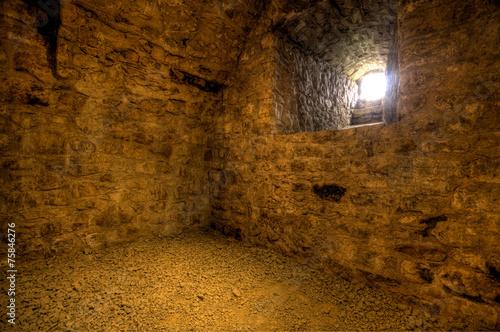 Leinwanddruck Bild Kellergewölbe