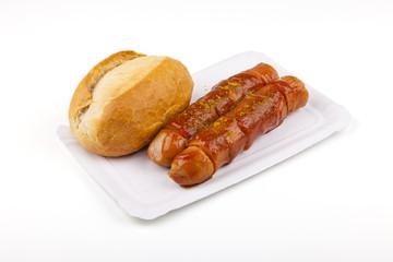 Currywurst - german sausage