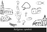 Fototapety Religious symbols1