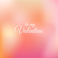 Blurred background for Valentine's day