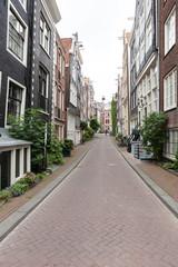 Gasse in Amsterdam, Niederlande