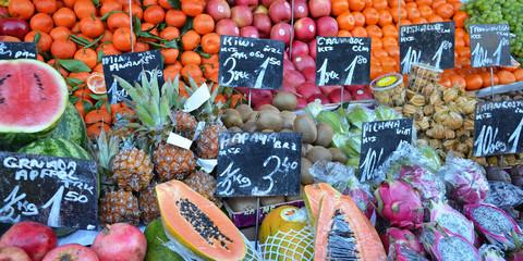obst, gemüse, markt