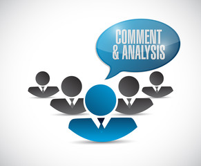 comment and analysis teamwork sign