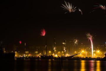 Feuerwerk in Rostock