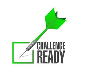challenge ready dart check mark