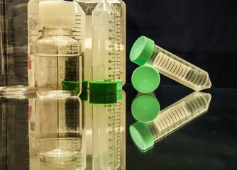 plastic laboratory material