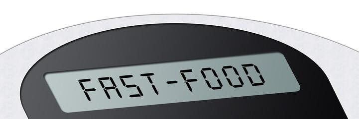 wsb5 WeighingScaleBanner - Waage - Fast-Food - 3zu1 g2961