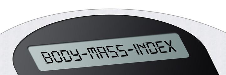 wsb7 WeighingScaleBanner - Waage - Body-Mass-Index - 3zu1 g2963