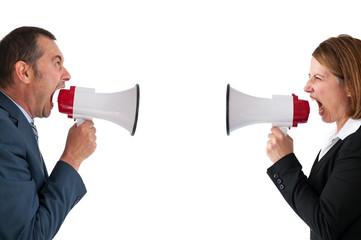 business conflict concept