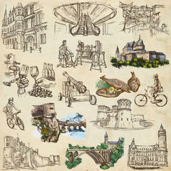 Luxembourg Travel - Full sized drawings
