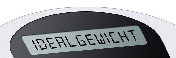 wsb9 WeighingScaleBanner - Waage - Idealgewicht - 3zu1 g2965
