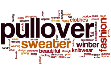 Pullover word cloud