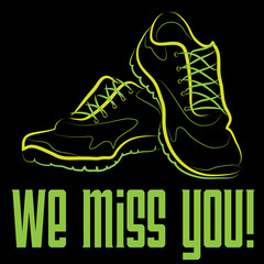 Miss You Sneakers