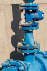 Válvula en Tubería de Agua Potable