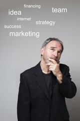 Mature executive plan your strategy