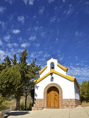 small chapel in the Alpujarra