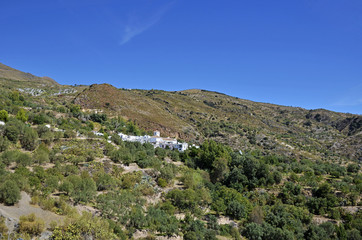 Notaez, small village in la alpujarra, Granada