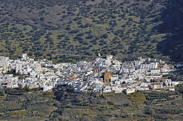 Ohanes, small village in Almeria, Spain