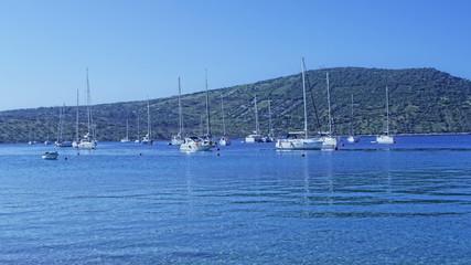 Primosten small harbor