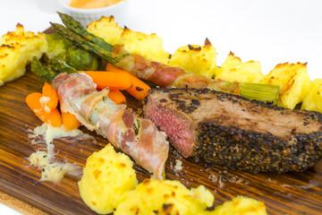 Planked Steak