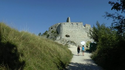 ruins of the old castle