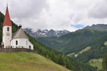 Ultental in Südtirol, St. Gertraud