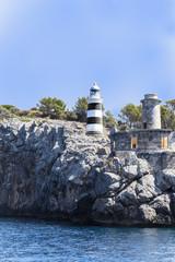 Port of Soller Lighthouse in Majorca