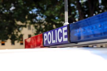 Polizei in Tasmanien. Australien