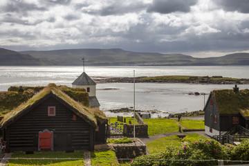 Faeroe island, Kirkjubour