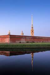 Pater and Paul fortress, Saint Petersburg, Russia