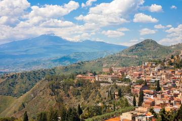 Taormina and the Etna