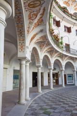 Seville - Plaza de Cabildo square.