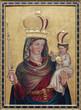 Vienna - Madonna paint on the side altar of Salesianerkirche