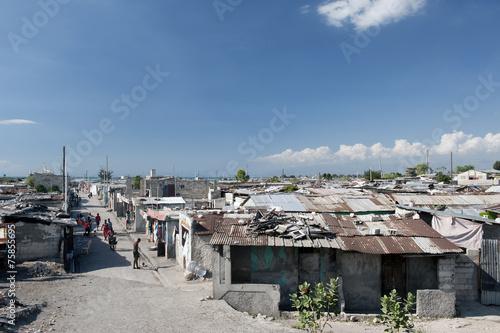 Fotobehang Centraal-Amerika Landen Cité Soleil, Haiti