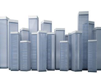 Many modern buildings